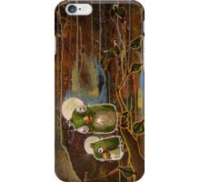 Two Birds Shy of a Flock iPhone Case/Skin