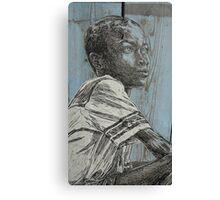 Little Boy Canvas Print
