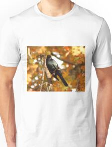 Red-Winged Black Bird Unisex T-Shirt