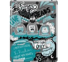 THE FROZEN CAT HEADS - LIVE!  iPad Case/Skin