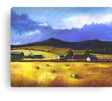 Bennachie in the Autumn Canvas Print