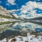 Medicine Lake Reflections by George Wheelhouse