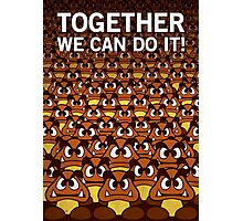Together we can do it Photographic Print