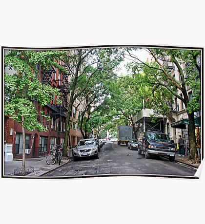 Jones Street, Greenwich Village Poster