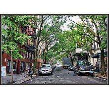 Jones Street, Greenwich Village Photographic Print