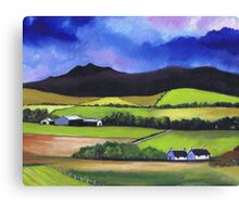 Bennachie near Old Meldrum Canvas Print