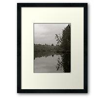 Reflection on Loch Ness | Scotland Framed Print