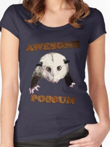 Awesome Possum Women's Fitted Scoop T-Shirt
