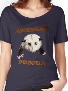 Awesome Possum Women's Relaxed Fit T-Shirt