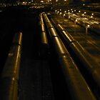 Night Train | Torino, Italy by rubbish-art