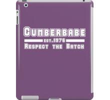 Cumberbabe <3 Benedict Cumberbatch iPad Case/Skin