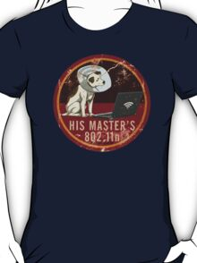His Master's 802.11n T-Shirt