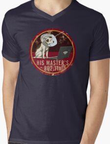 His Master's 802.11n Mens V-Neck T-Shirt