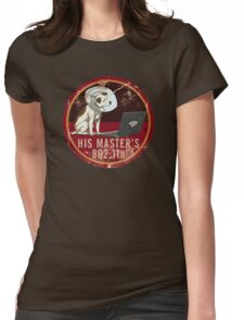 His Master's 802.11n Womens Fitted T-Shirt