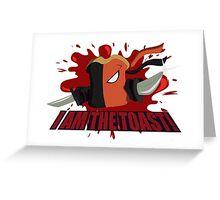 Deathtoast! Greeting Card