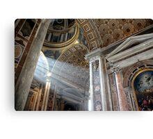 Vatican Rome.....Sun Rays Canvas Print
