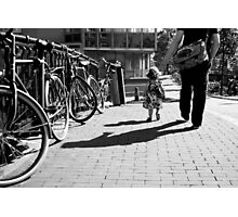 Walk safely, little one... Photographic Print