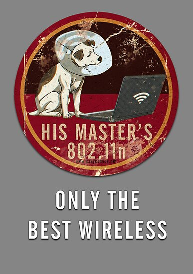 His Master's 802.11n by easycomics