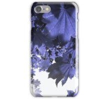 Blue Maple iPhone Case/Skin