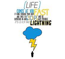 A Lot Like Lightning Photographic Print