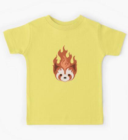 Legend of Korra: Fire Ferrets Pro Bending Emblem - no text Kids Tee