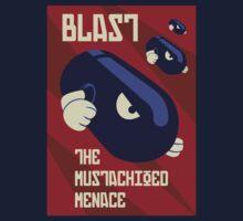 Blast the Mustachioed Menace One Piece - Long Sleeve