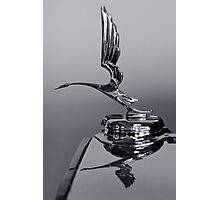 1931 Cadillac Ornament Photographic Print