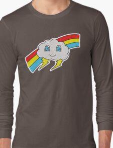 Clawd the Happy Little Rain Cloud Long Sleeve T-Shirt