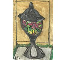 Stained Glass Lantern Photographic Print