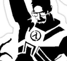 Half Life Gordon Freeman Fighting Sticker