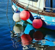 A Circle Of Buoys  by Susie Peek