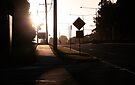 Suburban afternoon by Steve Leadbeater