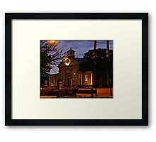 A touch of history Framed Print
