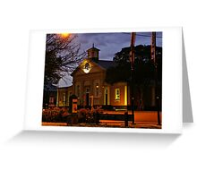 A touch of history Greeting Card