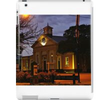 A touch of history iPad Case/Skin