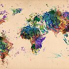 world map , 2 by mark ashkenazi