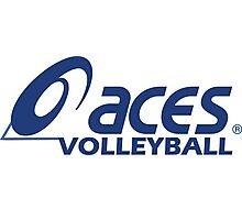 Aces Volleyball Photographic Print
