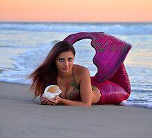 Mermaid Dreams, Long by AlynnArts