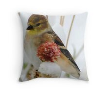 Winter Feast Throw Pillow