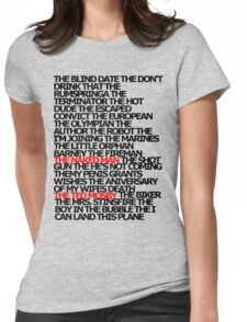 The Plays Womens Fitted T-Shirt