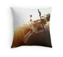 Platform 9 Throw Pillow