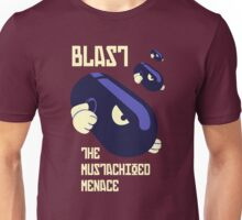 Blast the Mustachioed Menace - no background Unisex T-Shirt
