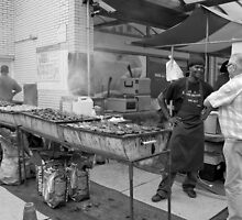 Street Barbeque by steppeland