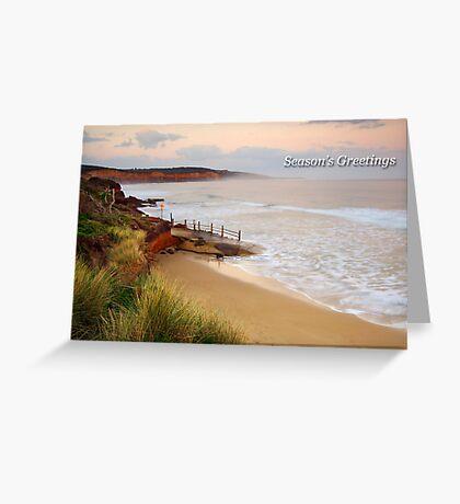 Anglesea Coastline Greeting Card