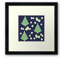 Christmas Tree with Presents #2 Framed Print