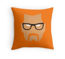 Gordon Freeman Half Life Throw Pillow