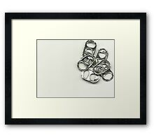 The silver Bundle Framed Print