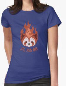 Legend of Korra: Fire Ferrets Pro Bending Emblem Womens Fitted T-Shirt