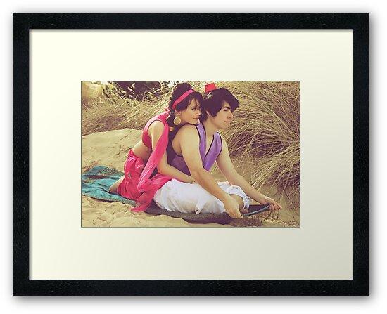 Aladdin & Jasmine by LiveToLove4ever