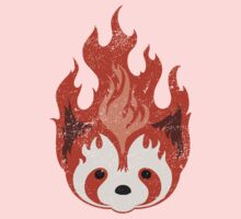 Legend of Korra: Fire Ferrets Pro Bending Emblem - no text Kids Tee
